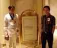 Were at the entrance of rigodon ballroom