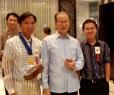 Its Juan SP Hidalgo, the Ilocano Literature Laureat, having time to pose with us