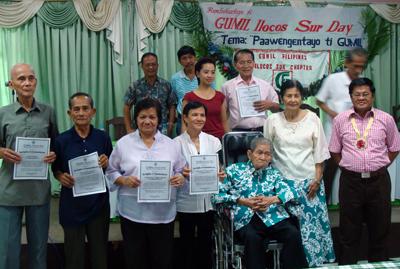 The Ilocano Poet Laureat With Gumil IS Awardees