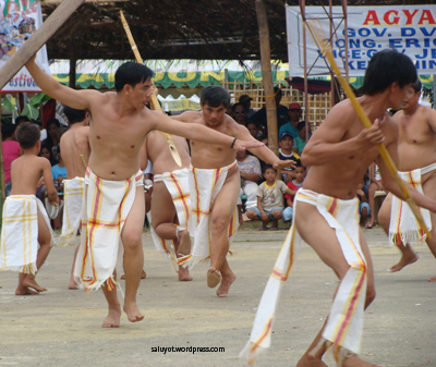 Tribal Community of Galimuyod, Ilocos do the Lueb Dance.  A tingguian and other northern tribe traditions asking for blessing from Kabunian.