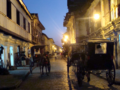 The beauty that never fades of Vigan City... it gets prettier at dawn.