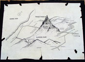Kadagiti kayatna umuli iti Tirad Pass, daytoy ti mapana.