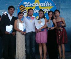 The initiator Bokal Zuriel Zaragoza with Ilocandia Idol Winners