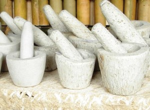 The craft of San Esteban, Ilocos Sur called almiris (mortar and pestle)