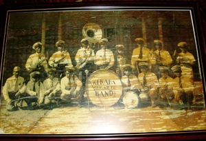 The wind band called Kekaha Sugar Company Band.  Graciano Gadiaza was one of the player of saxophone.