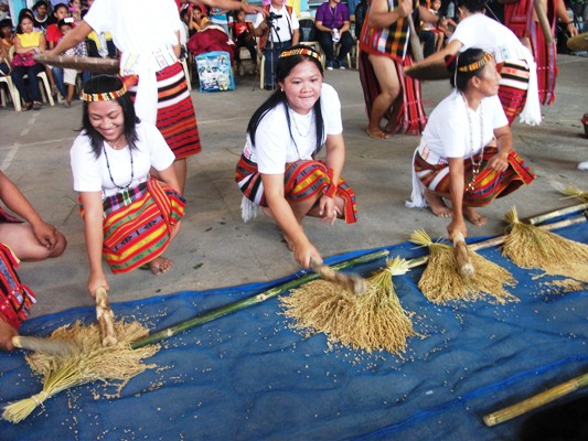 Tribal Dance on rice harvest.